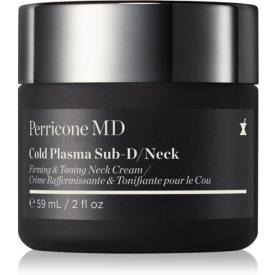 Perricone MD Cold Plasma Plus+ Sub-D/Neck spevňujúci krém na krk a dekolt 59 ml