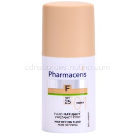 Pharmaceris F-Fluid Foundation zmatňujúci fluidný make-up SPF 25 odtieň 01 Ivory 30 ml