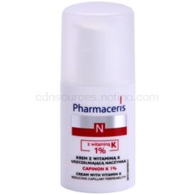Pharmaceris N-Neocapillaries Capinion K 1% posilňujúci krém na popraskané žilky pre urýchlenie regenerácie 30 ml
