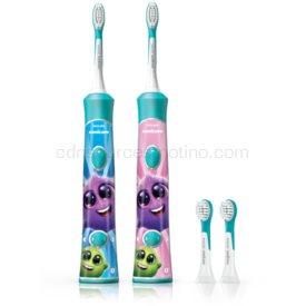 Philips Sonicare For Kids HX6322/04 sonická elektrická zubná kefka pre deti prepojená s pripojením Bluetooth od 3 rokov