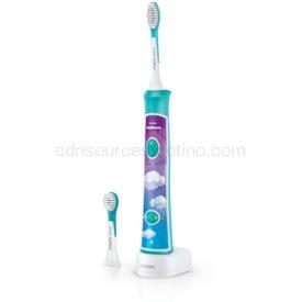 Philips Sonicare For Kids 3+ HX6322/04 sonická elektrická zubná kefka pre deti prepojená s pripojením Bluetooth od 3 rokov
