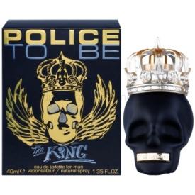 Police To Be The King toaletná voda pre mužov 40 ml