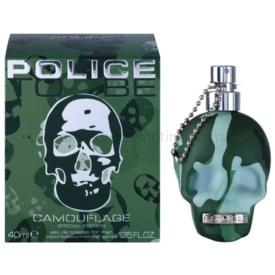 Police To Be Camouflage toaletná voda pre mužov 40 ml