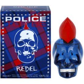 Police To Be Rebel toaletná voda pre mužov 40 ml