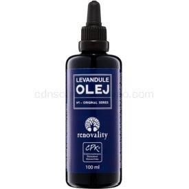 Renovality Original Series masážny telový olej z levandule 100 ml