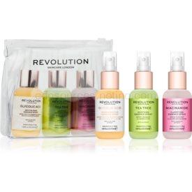 Revolution Skincare Mini Essence So Soothing sada pre starostlivosť o pleť (na upokojenie pleti)