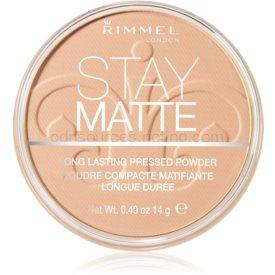 Rimmel Stay Matte púder odtieň 004 Sandstorm 14 g