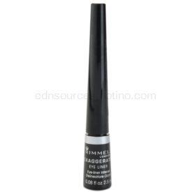 Rimmel Exaggerate Eyeliner tekuté linky na oči odtieň 100% Black 2,5 ml