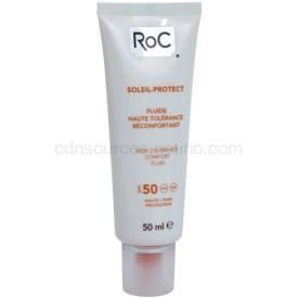 RoC Soleil Protect ochranný fluid pre veľmi citlivú pleť SPF 50 50 ml