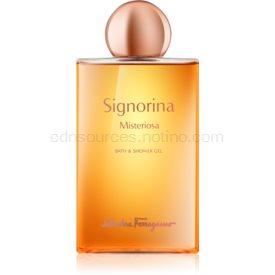 Salvatore Ferragamo Signorina Misteriosa sprchový gél pre ženy 200 ml