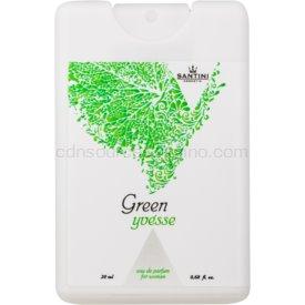 SANTINI Cosmetic Green Yvésse parfumovaná voda pre ženy 20 ml cestovné balenie