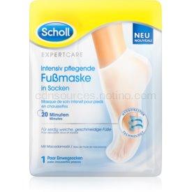 Scholl Expert Care hĺbkovo vyživujúca maska na nohy