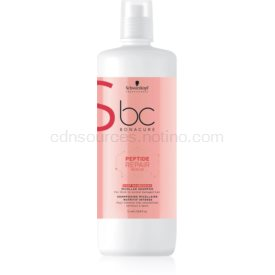 Schwarzkopf Professional BC Bonacure Peptide Repair Rescue osviežujúci micelárny šampón pre extrémne poškodené vlasy 1000 ml