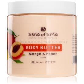 Sea of Spa Dead Sea Treatment telové maslo s mangom a broskyňou 500 ml