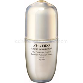 Shiseido Future Solution LX Total Protective Emulsion ochranná denná emulzia SPF 15 75 ml