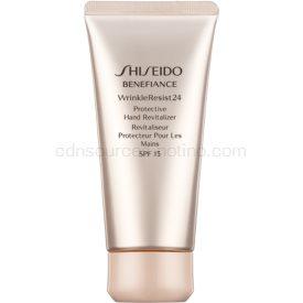 Shiseido Benefiance WrinkleResist24 Protective Hand Revitalizer obnovujúci a ochranný krém na ruky SPF 15 75 ml