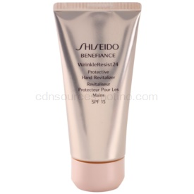 Shiseido Benefiance WrinkleResist24 obnovujúci a ochranný krém na ruky SPF 15 75 ml