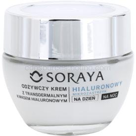 Soraya Hyaluronic Microinjection vyživujúca starostlivosť pre regeneráciu a obnovu pleti 70+ 50 ml