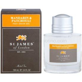 St. James Of London Mandarin & Patchouli gél po holení pre mužov 100 ml