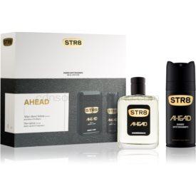 STR8 Ahead darčeková sada voda po holení 100 ml + deodorant v spreji 150 ml