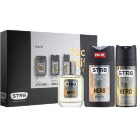 STR8 Hero darčeková sada I. sprchový gel 250 ml + voda po holení 50 ml + deodorant v spreji 150 ml