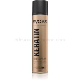 Syoss Keratin lak na vlasy s extra silnou fixáciou 300 ml
