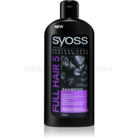 Syoss Full Hair 5 Density & Volume šampón pre rednúce vlasy bez objemu 500 ml