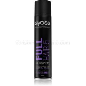 Syoss Full Hair 5 lak na vlasy s extra silnou fixáciou 300 ml