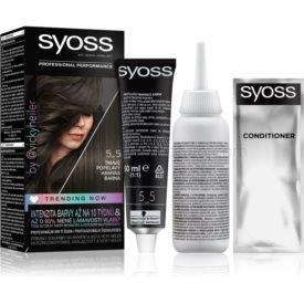 Syoss Permanent Coloration permanentná farba na vlasy odtieň 5-5 Dark Ash