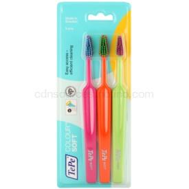 TePe Colour Soft zubné kefky 3 ks