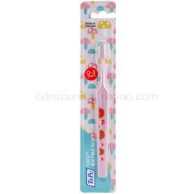 TePe Mini Illustration zubná kefka pre deti s malou zúženou hlavicou extra soft