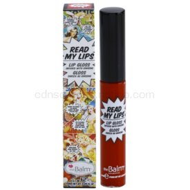 theBalm Read My Lips lesk na pery odtieň WOW! 6,5 ml