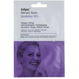 Tołpa Dermo Face Modelar 50+ liftingová vypínacia maska na tvár, krk a dekolt 2 x 6 ml