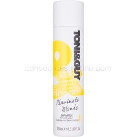 TONI&GUY Cleanse šampón pre blond vlasy 250 ml