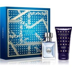 Versace Pour Homme darčeková sada XX. šampón na celé telo 50 ml + toaletná voda 30 ml