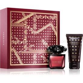 Versace Crystal Noir darčeková sada III. pre ženy