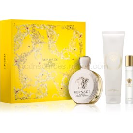 Versace Eros Pour Femme darčeková sada II. parfém 100 ml + telové mlieko 150 ml + parfémovaná voda roll-on 10 ml