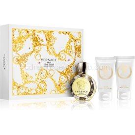 Versace Eros Pour Femme darčeková sada VI. toaletná voda 50 ml + sprchový a kúpeľový gél 50 ml + telové mlieko 50 ml