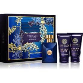 Versace Dylan Blue Pour Homme darčeková sada V. toaletná voda 50 ml + sprchový gel 50 ml + balzam po holení 50 ml
