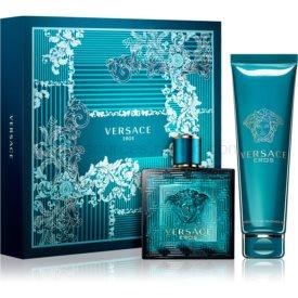 Versace Eros darčeková sada XV. toaletná voda 100 ml + sprchový gel 150 ml