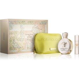 Versace Eros Pour Femme darčeková sada XIV. parfém 100 ml + parfém 10 ml + kozmetická taška