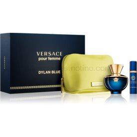 Versace Dylan Blue Pour Femme darčeková sada II. parfém 100 ml + parfém 10 ml + taštička