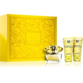 Versace Yellow Diamond darčeková sada III. pre ženy