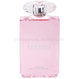 Versace Bright Crystal sprchový gél pre ženy 200 ml
