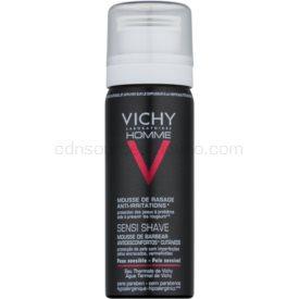 Vichy Homme Anti-Irritation pena na holenie pre citlivú a podráždenú pleť 50 ml