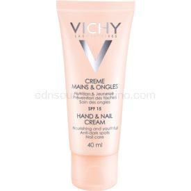 Vichy Hand & Nail výživný krém na ruky a nechty proti tmavým škvrnám SPF 15 40 ml