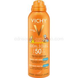 Vichy Idéal Soleil Capital jemný ochranný sprej odpudzujúci piesok pre deti SPF 50+ 200 ml