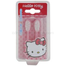 VitalCare Hello Kitty náhradné hlavice pre sonickú zubnú kefku na baterky 2 ks 2 ks