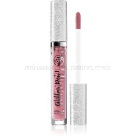 W7 Cosmetics Glitter Pop! tekutý rúž s trblietkami odtieň Bare Blitz 2,5 ml