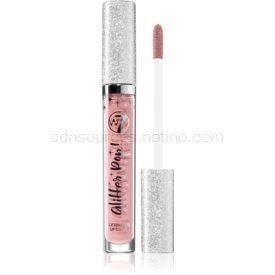 W7 Cosmetics Glitter Pop! tekutý rúž s trblietkami odtieň Flesh Flash 2,5 ml
